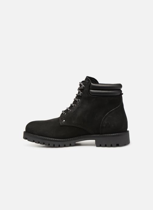 Bottines et boots Jack & Jones JFWSTOKE NUBUCK BOOT NOOS Noir vue face