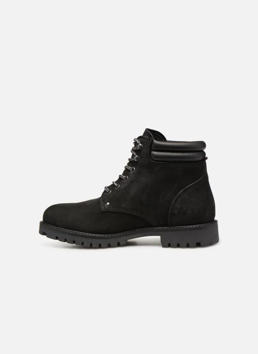 Bottines et boots Jack & Jones JFWSTOKE NUBUCK BOOT NOOS Noir vue face