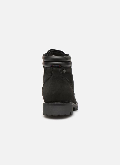 Bottines et boots Jack & Jones JFWSTOKE NUBUCK BOOT NOOS Noir vue droite