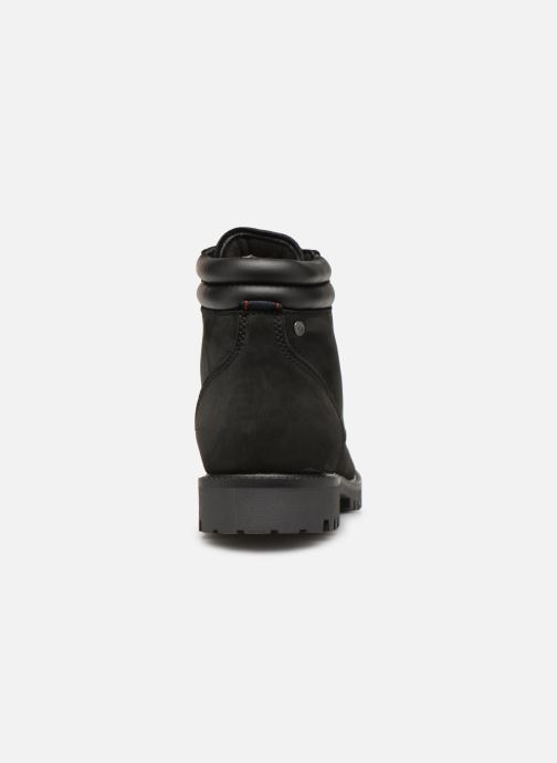 Ankle boots Jack & Jones JFWSTOKE NUBUCK BOOT NOOS Black view from the right