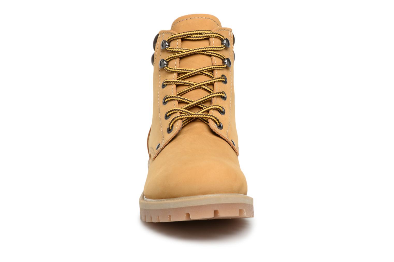 Stiefeletten & Boots Jack & Jones JFWSTOKE NUBUCK BOOT NOOS beige schuhe getragen