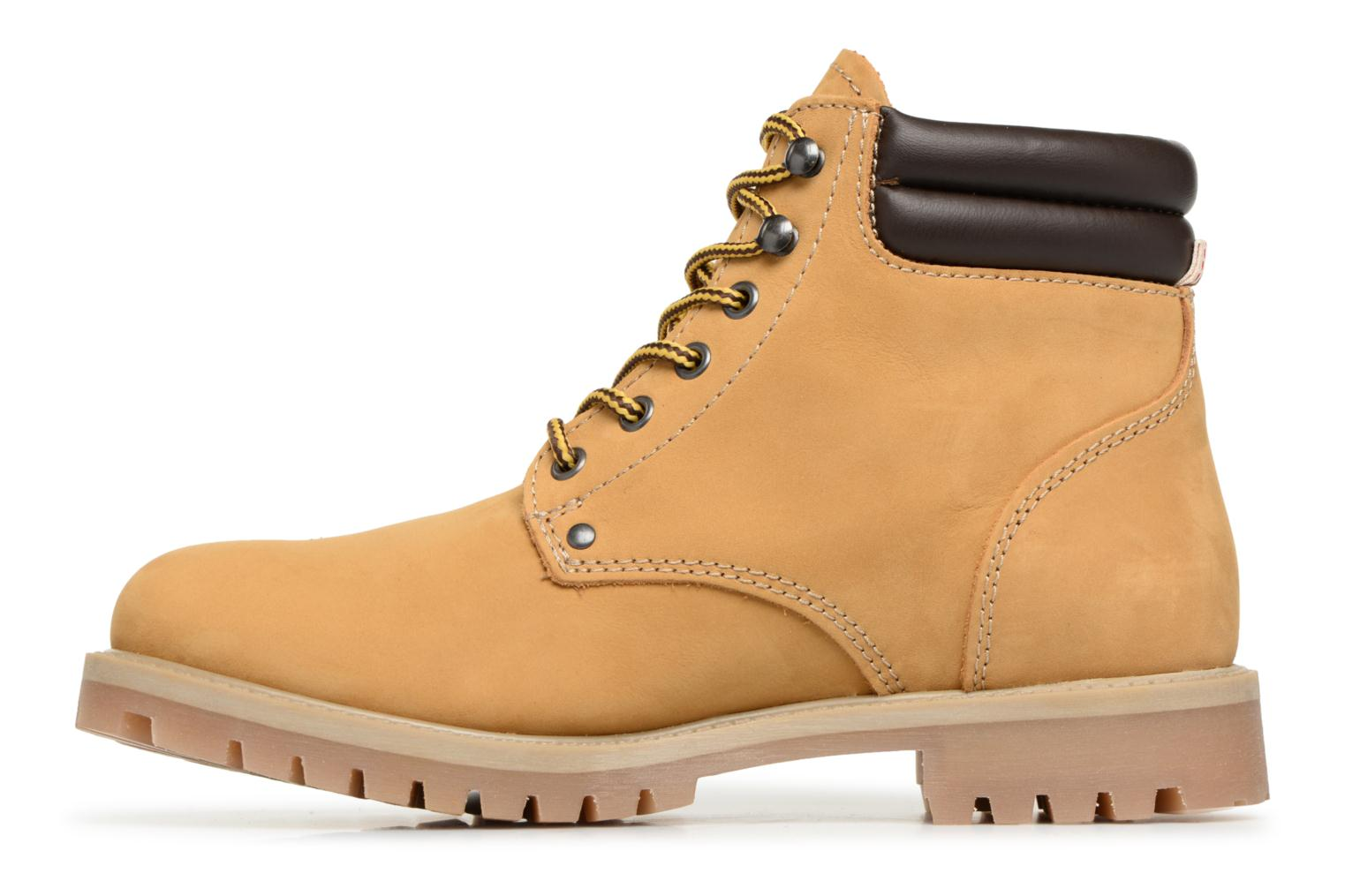 Bottines et boots Jack & Jones JFWSTOKE NUBUCK BOOT NOOS Beige vue face