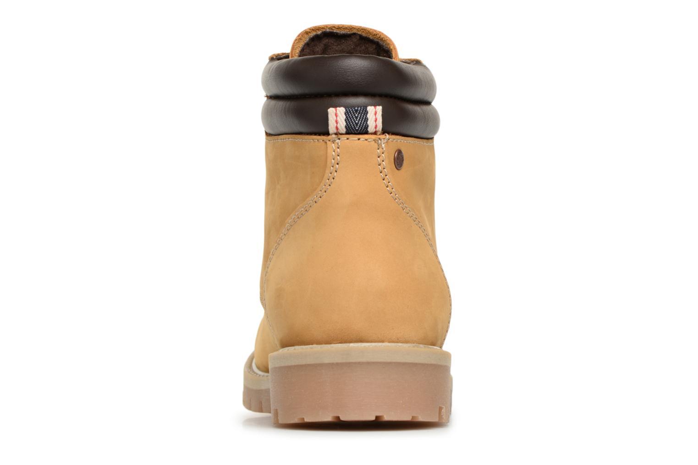 Stiefeletten & Boots Jack & Jones JFWSTOKE NUBUCK BOOT NOOS beige ansicht von rechts