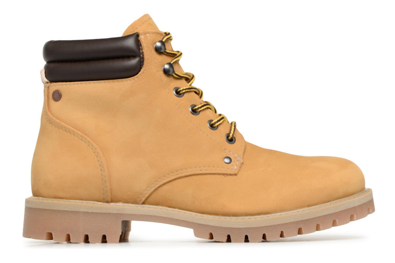 Stiefeletten & Boots Jack & Jones JFWSTOKE NUBUCK BOOT NOOS beige ansicht von hinten