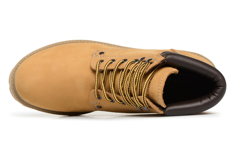 Stiefeletten & Boots Jack & Jones JFWSTOKE NUBUCK BOOT NOOS beige ansicht von links