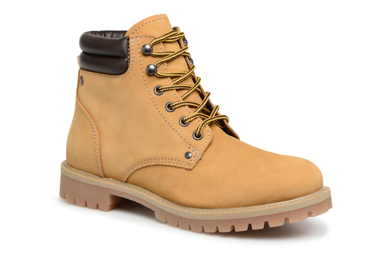 Stiefeletten & Boots Jack & Jones JFWSTOKE NUBUCK BOOT NOOS beige detaillierte ansicht/modell
