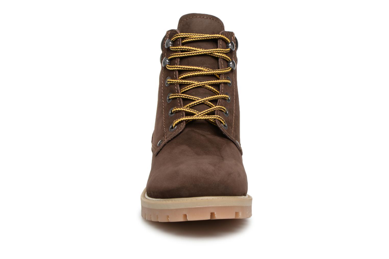 Stiefeletten & Boots Jack & Jones JFWSTOKE NUBUCK BOOT NOOS braun schuhe getragen