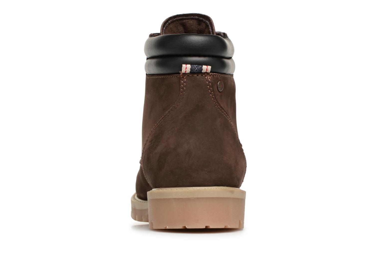 Stiefeletten & Boots Jack & Jones JFWSTOKE NUBUCK BOOT NOOS braun ansicht von rechts
