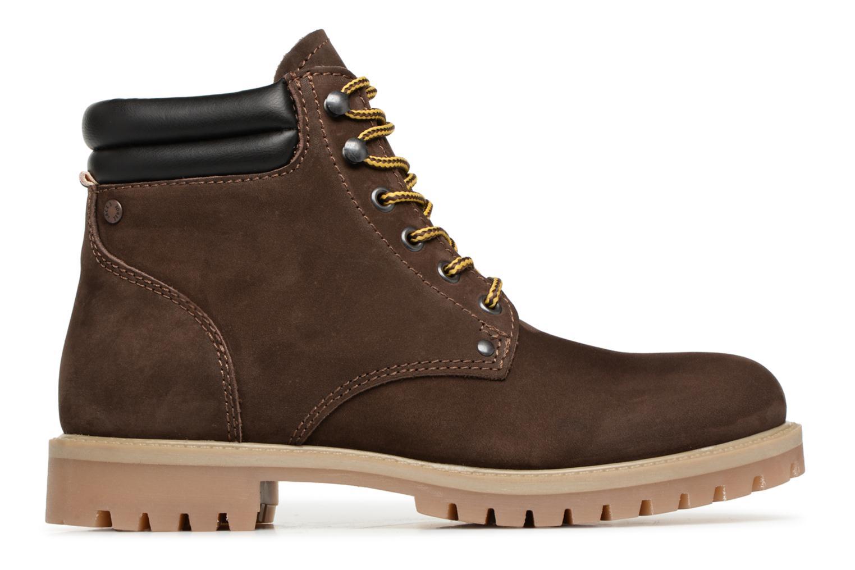 Stiefeletten & Boots Jack & Jones JFWSTOKE NUBUCK BOOT NOOS braun ansicht von hinten