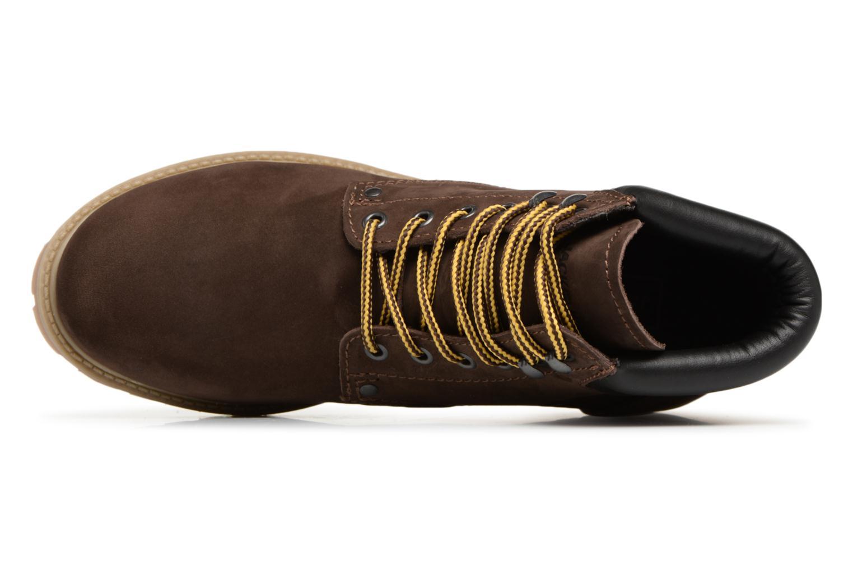 Stiefeletten & Boots Jack & Jones JFWSTOKE NUBUCK BOOT NOOS braun ansicht von links
