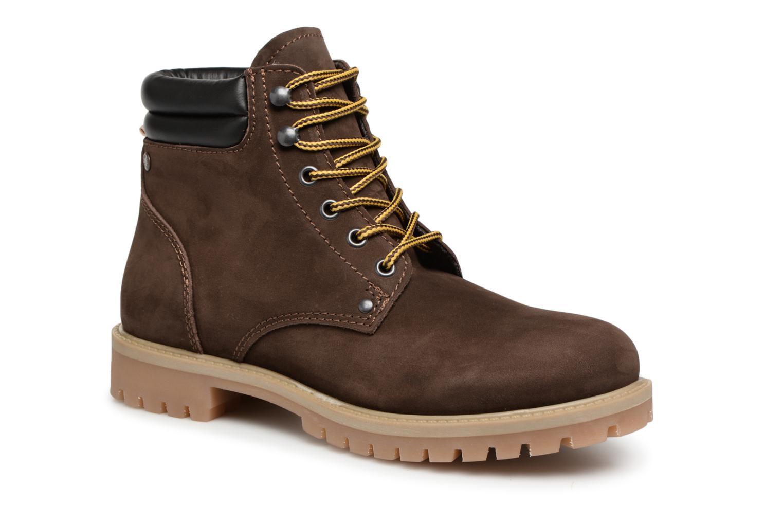 Stiefeletten & Boots Jack & Jones JFWSTOKE NUBUCK BOOT NOOS braun detaillierte ansicht/modell