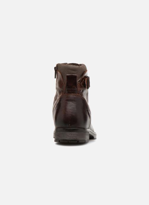 Bottines et boots Jack & Jones JFWALBANY Marron vue droite