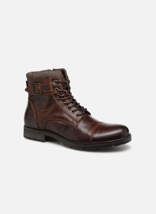 Bottines et boots Jack & Jones JFWALBANY Marron vue détail/paire