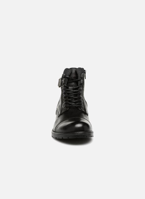 Stiefeletten & Boots Jack & Jones JFWALBANY schwarz schuhe getragen