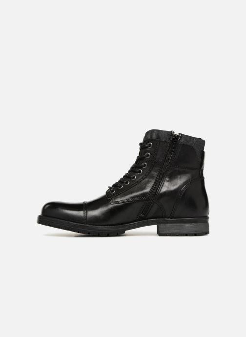 Stiefeletten & Boots Jack & Jones JFWALBANY schwarz ansicht von vorne