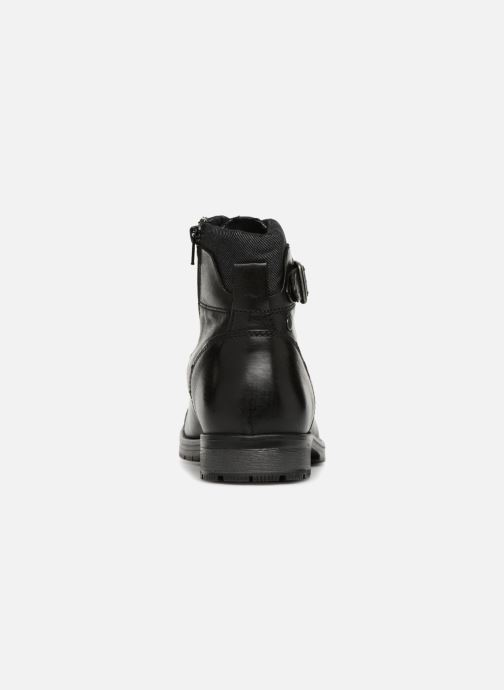 Ankle boots Jack & Jones JFWALBANY Black view from the right