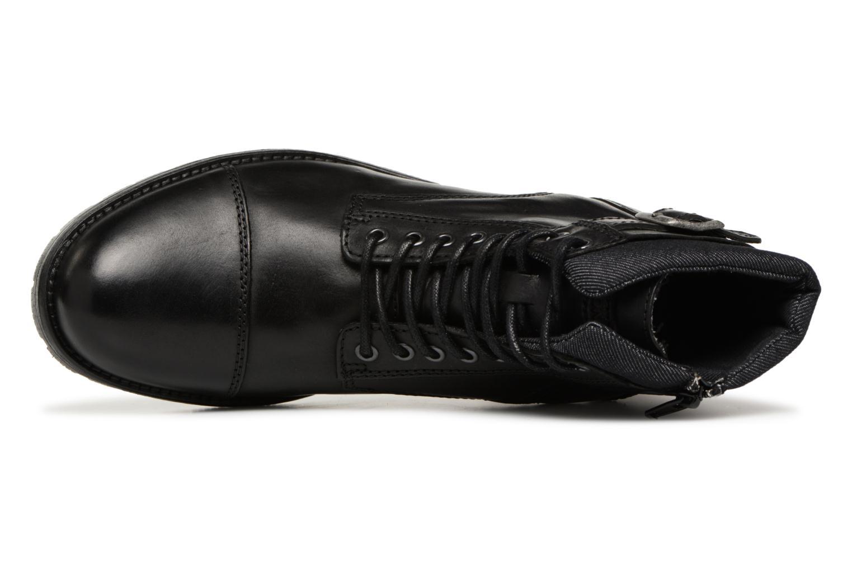 Bottines et boots Jack & Jones JFWALBANY Noir vue gauche