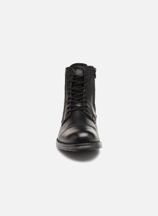 Stiefeletten & Boots Jack & Jones JFWRUSSEL schwarz schuhe getragen
