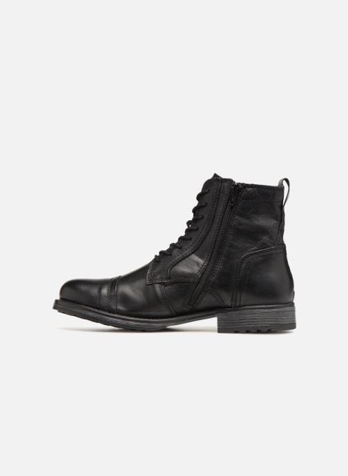 Ankle boots Jack & Jones JFWRUSSEL Black front view