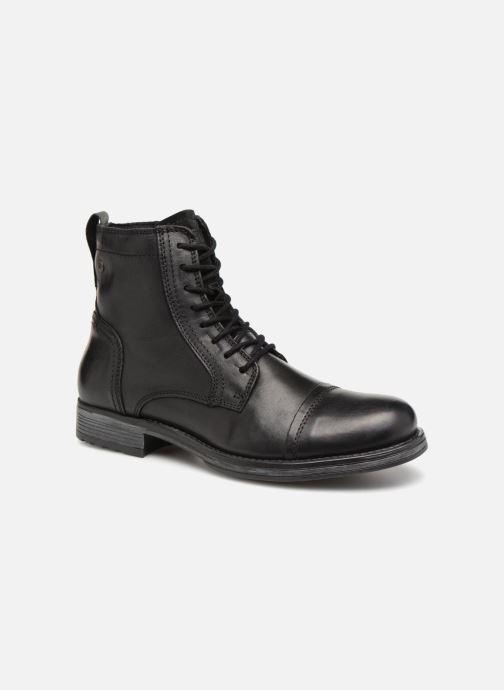 Bottines et boots Jack & Jones JFWRUSSEL Noir vue détail/paire