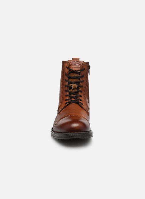 Bottines et boots Jack & Jones JFWRUSSEL Marron vue portées chaussures