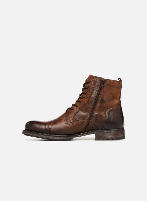 Bottines et boots Jack & Jones JFWRUSSEL Marron vue face