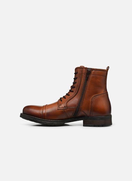 Stiefeletten & Boots Jack & Jones JFWRUSSEL braun ansicht von vorne