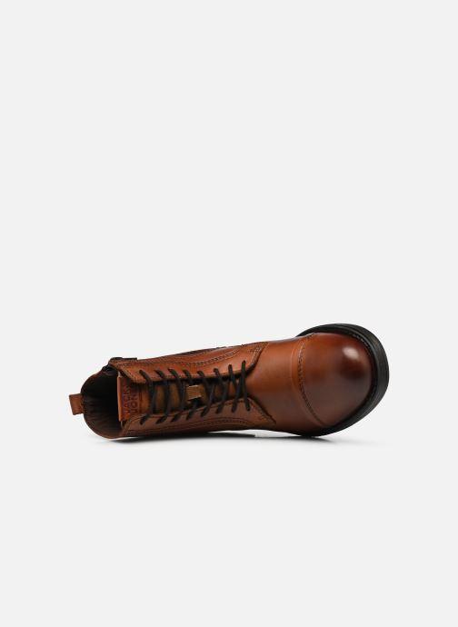 Stiefeletten & Boots Jack & Jones JFWRUSSEL braun ansicht von links