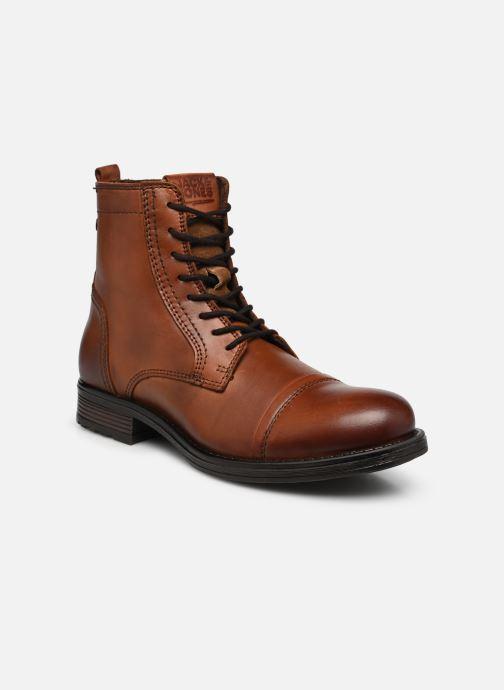 Bottines et boots Jack & Jones JFWRUSSEL Marron vue détail/paire