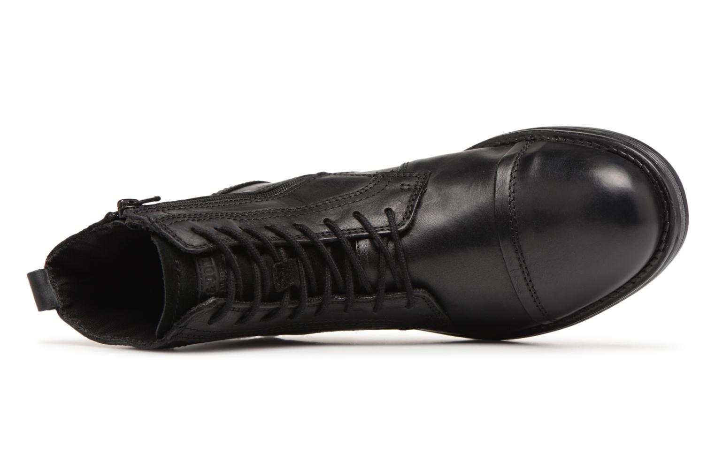 Stiefeletten & Boots Jack & Jones JFWRUSSEL schwarz ansicht von links