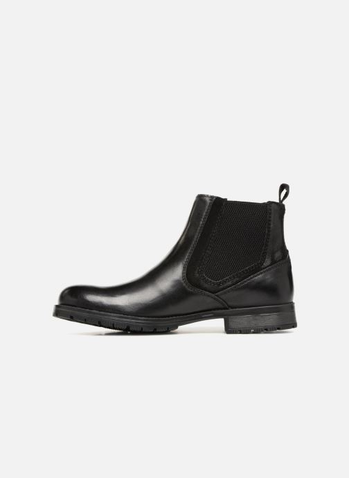 Bottines et boots Jack & Jones JFWCARSTON COMBO  CHELSEA Noir vue face