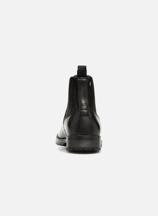Bottines et boots Jack & Jones JFWCARSTON COMBO  CHELSEA Noir vue droite