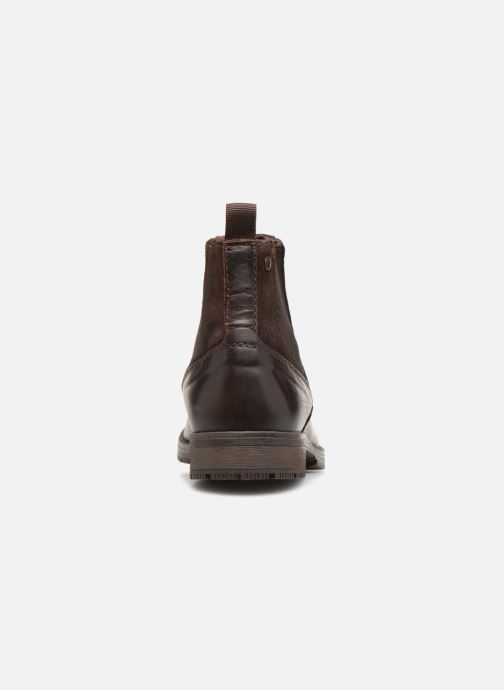 Stiefeletten & Boots Jack & Jones JFWCARSTON COMBO  CHELSEA schwarz ansicht von rechts