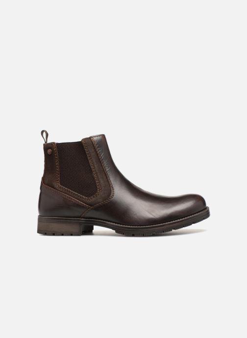 Stiefeletten & Boots Jack & Jones JFWCARSTON COMBO  CHELSEA schwarz ansicht von hinten