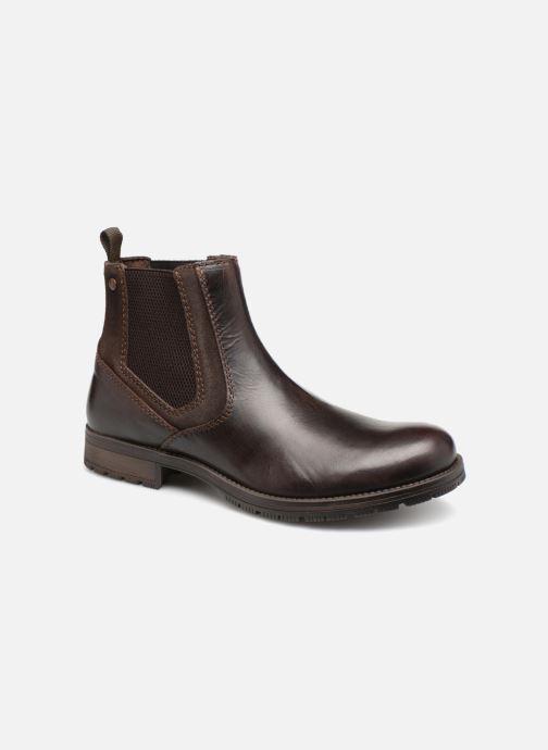 Stiefeletten & Boots Jack & Jones JFWCARSTON COMBO  CHELSEA schwarz detaillierte ansicht/modell