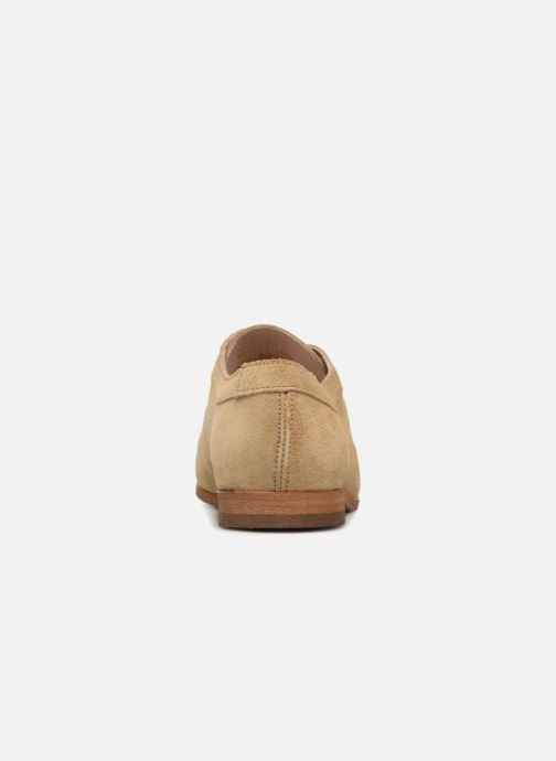 Mocasines Shoe the bear NADIA ZIP S Beige vista lateral derecha
