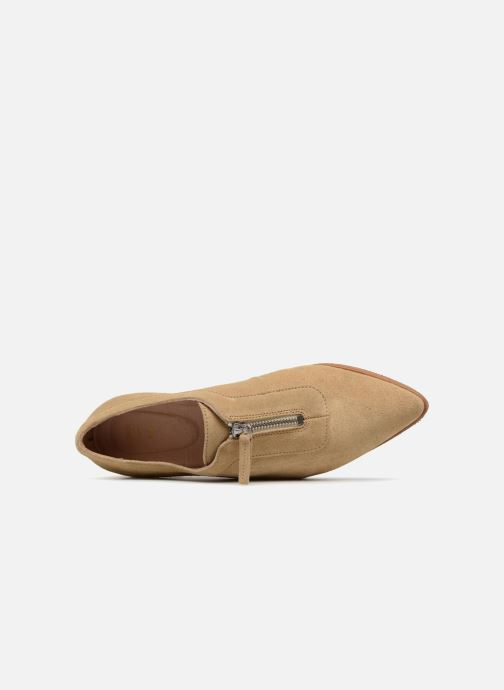 Mocassins Shoe the bear NADIA ZIP S Beige vue gauche