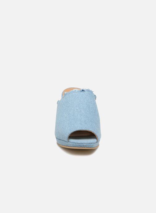 Mules et sabots Shoe the bear SALLY D Bleu vue portées chaussures