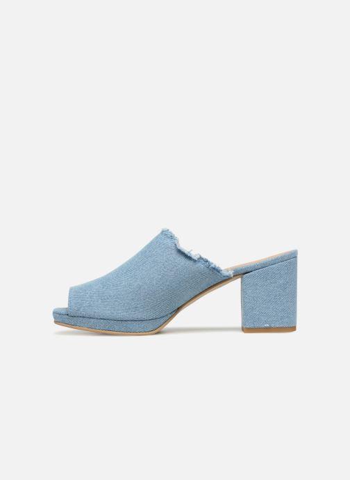 Zuecos Shoe the bear SALLY D Azul vista de frente