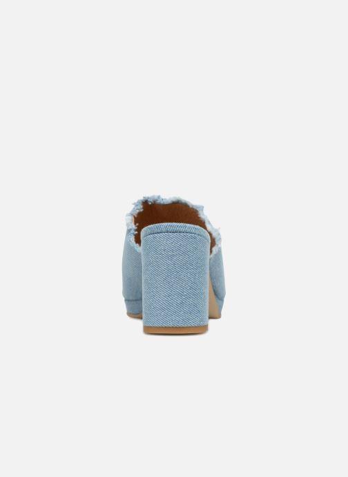 Mules et sabots Shoe the bear SALLY D Bleu vue droite