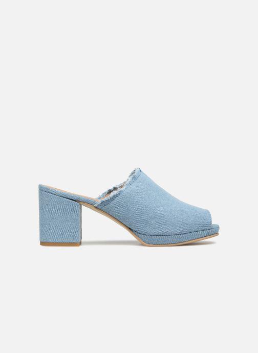 Zuecos Shoe the bear SALLY D Azul vistra trasera