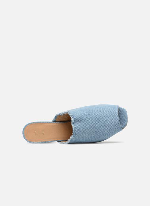 Mules et sabots Shoe the bear SALLY D Bleu vue gauche