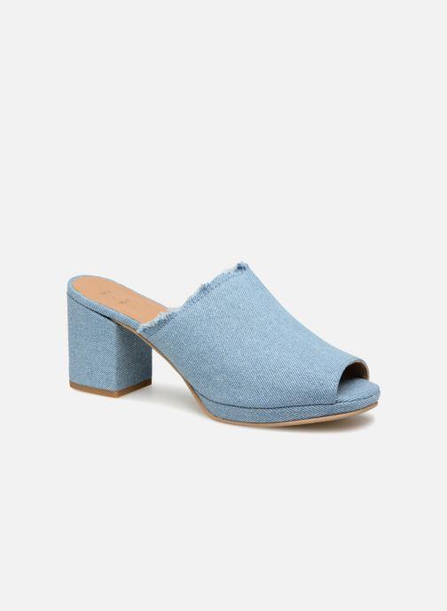 Mules et sabots Shoe the bear SALLY D Bleu vue détail/paire