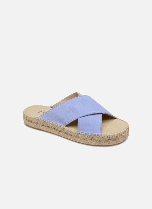 Espadrilles Shoe the bear THEA S Bleu vue détail/paire