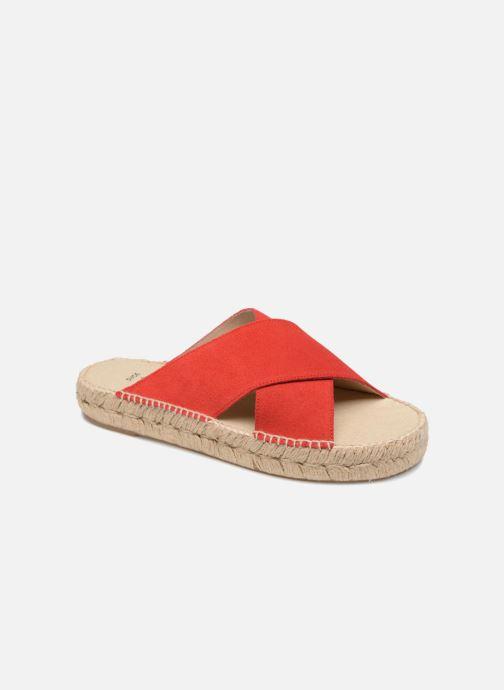 Espadrilles Shoe the bear THEA S Rouge vue détail/paire