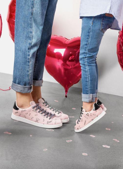 Sneaker Victoria Deportivo SARENZA X VICTORIA rosa ansicht von unten / tasche getragen