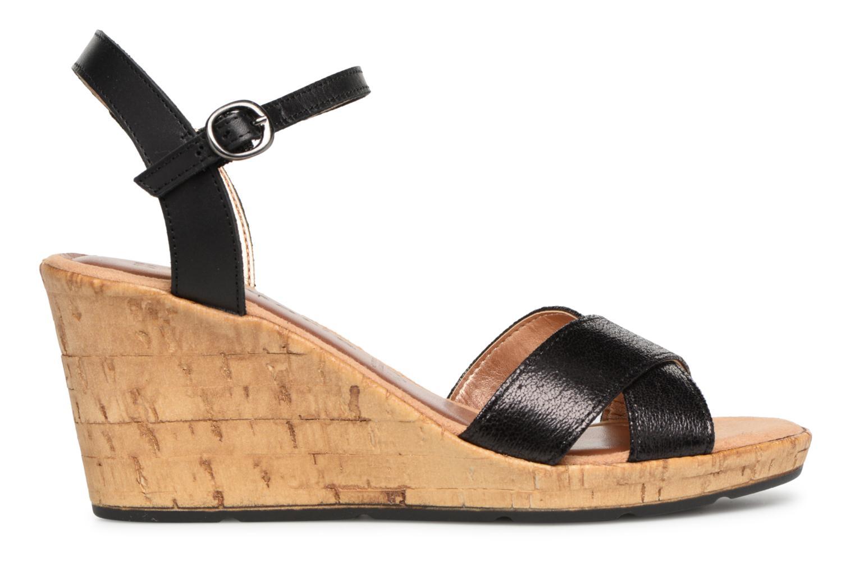 Sandalen Tamaris Aubepine 2 Zwart achterkant