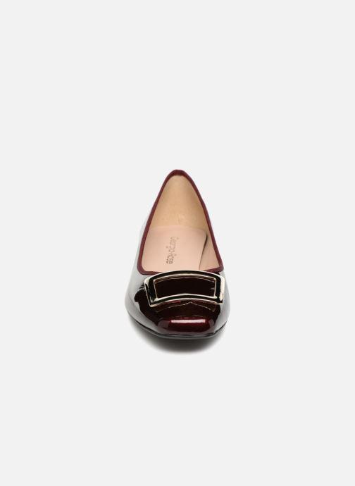 Ballerines Georgia Rose Socaret Bordeaux vue portées chaussures