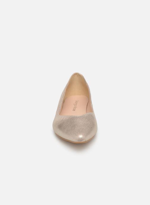 Ballerines Georgia Rose Sawave Or et bronze vue portées chaussures