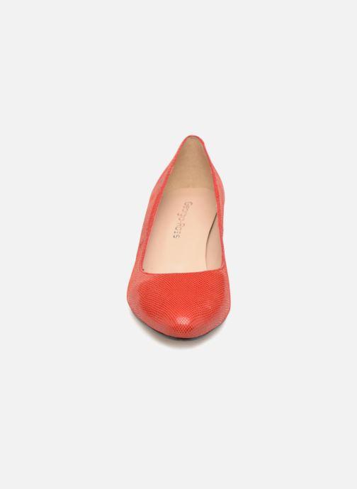 Zapatos de tacón Georgia Rose Suzet Rojo vista del modelo